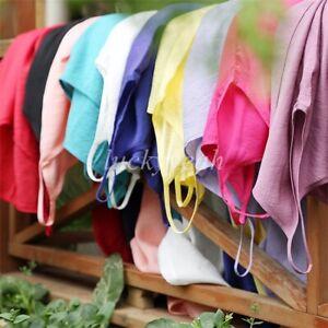 Cotton Silk Full Slip Petticoat Underskirt Camisole Nightdress Chemise L XL