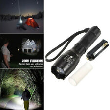 TC1200 TacLight Military Tactical LED Flashlight Waterproof Torch Outdoor Torch