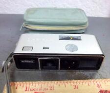 Vintage Minolta 16 model P camera with carry bag, fun collectible older camera