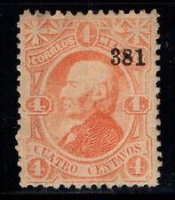 Messico 1874 Mi. 95 Iy Nuovo * 80% 4 C, Hidalgo
