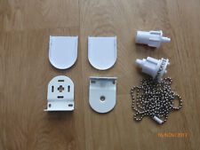 Metal Roller Blind Fittings Repair Parts Kit Brackets Heavy Duty 32mm 1m Chain