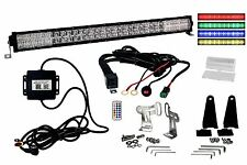 "RGB Series 30"" OZ-USA®  Dimmable LED Light bar DRL Bluetooth Anti-Theft hardware"