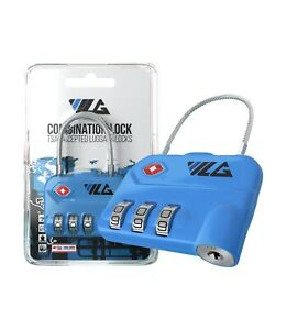 TSA Approved Luggage Travel Lock Set-Your-Own Combination Lock for Suitcase Bag