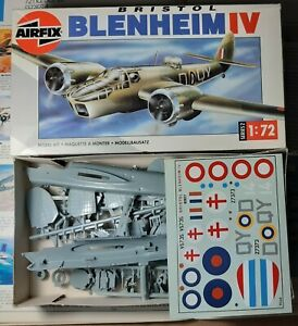 Airfix 1/72 - Bristol Blenheim Mk. IV - Type 10 box art