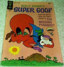 Walt Disney's Super Goof 13, (FN 6.0) 1970, 40% off Guide!