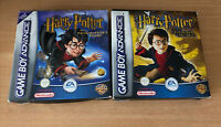 Harry Potter & The Philosophers Stone + Chamber Of Secrets GBA Boxed Complete