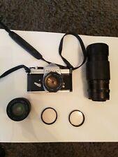 Spotmatic Pentax Asahi Camera, Focal, Panagor, Aragon and other Lenses