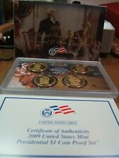 (6) 2009 US Mint Presidential $1 Proof Sets w/ Box and Cert.