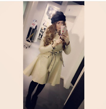 Ted Baker Gilliy Skirted Mac Double Breasted Trench Jacket Coat 1 UK 8 36 £259