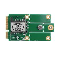 M.2 NGFF B Key to Mini PCI-E Converter Adapter Card with SIM Card Slot hv2n