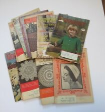 The Workbasket Magazines, Lot of 11 1958 to 1977