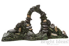 Fiddlehead Fairy Garden - FAIRY HOME ACCESSORIES - Stone Arch With Wall