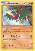 3 x Pokemon Card - XY Furious Fists 63/111 - HAWLUCHA (holo-foil) - NM/Mint