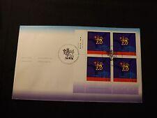 Canada FDC - 2002 - 50th Anniv. - Governor General Plate Block