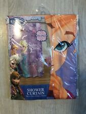 Disney Frozen Sisters Forever Shower Curtain 70x72 NEW