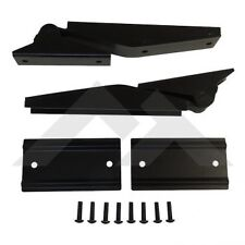 1997-2006 Jeep Wrangler  & Unlimited Tailgate Hinges Kit in Matte Black