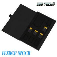 Étui carte memoire Portable aluminium 1SD 8TF Micro SD carte boîte de rangement