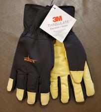 Habit Waterproof 3M Thinsulate 100 Gram Gloves Leather Palm - Medium