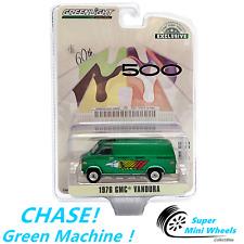 CHASE ! Green Machine ! 1:64 -1976 GMC Vandura - 60th Annual Indianapolis 500