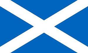 SCOTLAND SALTIRE FLAG 3FT x 2FT LARGE NATIONAL SCOTTISH COLLECTABLE SOUVENIR YES