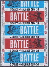 More details for a&bc wrapper-battle cards 1966 (variant 3 cards plus bubble gum)