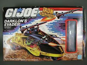ORIGINAL 1989 GI Joe Cobra Iron Grenadiers Darklons Evader Vehicle COMPLETE NR