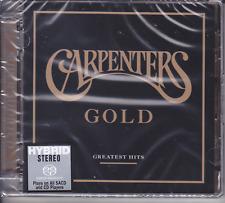 """Carpenters - Gold Greatest Hits"" Japan Hybrid SACD Audiophile CD New Sealed"