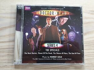 Doctor Who Original Television Soundtrack Series 4 The Specials CD