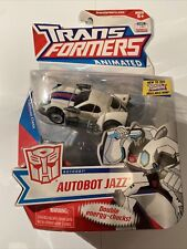 NEW MISB TRANSFORMERS  Animated Deluxe Class  JAZZ New & Sealed