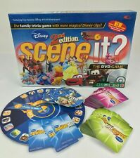Disney Scene It? 2nd Edition DVD Board Game Replacement Parts Tokens Cards Dice