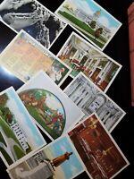 Lot of 9 Original Vintage Postcards - Kentucky - Frankfort, Wickliffe, etc.