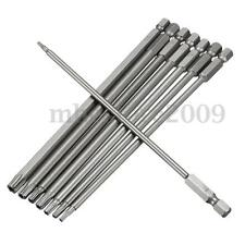 8 In 1 Length 150mm Magnetic Torx Security Electric Screwdriver Drill Bits Set