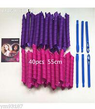 55cm 40pcs Large Magic Hair Curlers for Long Hair DIY No Heat Cheap Tools Hot