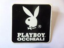 VECCHIO ADESIVO ORIGINALE /Old Sticker SEXI GIRL PLAYBOY RABBIT BUNNY (cm 10x10)