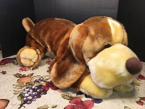 "VGUC-VINTAGE-36"" 2000 Animal Alley Darby Plush Stuffed Dog Toy Floppy Lovey"