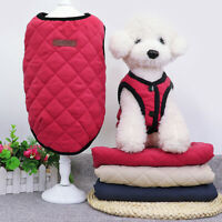 Winter Dog Coat Jacket for French Bulldog Chihuahua Pug Yorkie Pet Clothes Vest