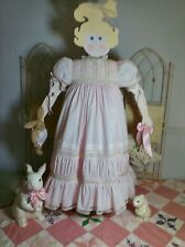 Girls Handmade Heirloom Dress! Easter! Portrait! Flower Girl! Beauty Pageant!