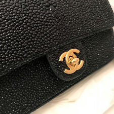 Chanel LIMITED EDITION CLASSIC Timeless MINI Stingray BAG