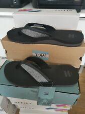 TOMS SANTIAGO FLIP FLOP SIZE UK 11