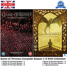 Game of Thrones Season 1-5 Complete Collection 1 2 3 4 5 + Special Features DVD