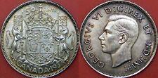 Very Fine 1937 Canada Silver 50 Cents