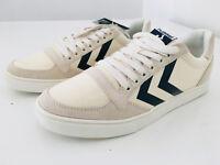HUMMEL - lässige Sneaker Stadil Herringbone Low weiß-  NEU Gr 39 S44OK