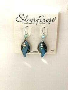Silver Forest Handcrafted in the USA Earrings NEW (A12)