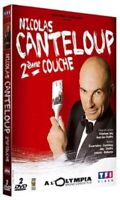DVD NEUF HUMOURCOMEDIE : NICOLAS CANTELOUP 2EME COUCHE - SPECTACLE A L'OLYMPIA