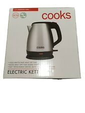 Cooks Electric Kettle Cordless 1.7L automatic shut-off  boil dry protection NIB