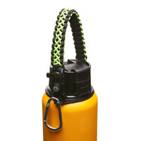 Paracord Handle Strap Cord Safety Ring & Carabiner for Hydro Flask Wide Mouth 9