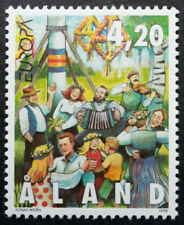 Aland 1998 Europa, National Festivals, Dancing, MNH / UNM