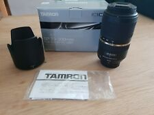 Tamron SP 70-300mm F/4-5.6 VC Di USD Lens