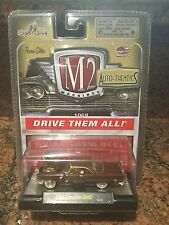 1957 Brown And Gold Chrysler 300F Chase Car M2 Machines 1:64