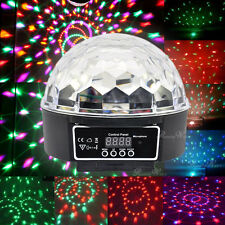 DMX512 RGB LED Crystal Ball Effekt Lampe Disko DJ Party Laser Bühne Blitz